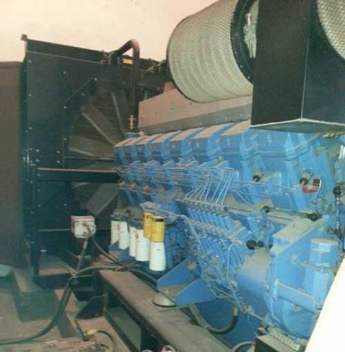 1600KW三菱原装柴油发电机组